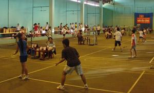 Cầu lông là 1 trong 14 môn thi của kỳ HKPĐ tỉnh thu hút 180 VĐV của 25 đoàn tham gia, dự tranh 13 nội dung.