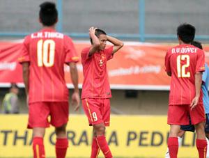 U23 Việt Nam gây thất vọng sau trận gặp Lào.