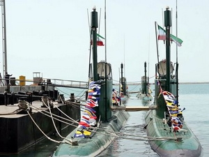 Tàu ngầm lớp Ghadir. (Nguồn: Internet)