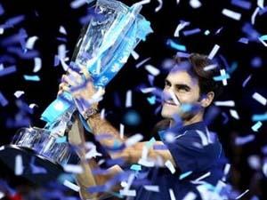 Federer vô địch ATTP World Tour Finals 2011. (Nguồn: Getty Images)