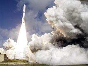 Phi thuyền Curiosity được phóng lên. (Nguồn: AP)