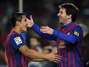 Messi và Alexis Sanchez
