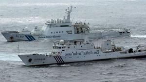 Tàu Hải giám Trung Quốc tiến sát nhóm đảo Senkaku bất chấp nỗ lực ngăn cản từ Cảnh sát biển Nhật Bản.