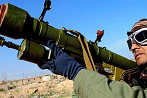 """Tên lửa vác vai hiện đã """"tham chiến"""" ở Syria - Ảnh: Reuters"""