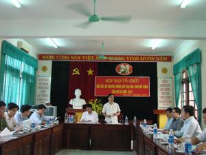Toàn cảnh Hội nghị triển khai kế hoạch tổ chức Giải việt dã truyền thống cúp Báo Hoà Bình năm 2013.