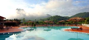 Một góc khu du lịch Resort Vĩnh Tiến (Kim Bôi).