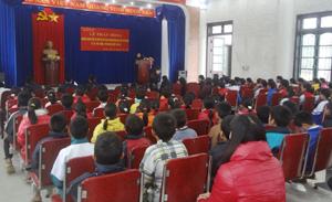 Truyền thông và điều tra trẻ em có hoàn cảnh khó khăn tại 2 xã Phú Cường và Phú Vinh – Tân Lạc.