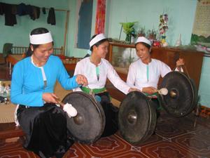 Xã Yên Thượng (Cao Phong) vẫn giữ được nhiều nét đẹp văn hóa đậm đà bản sắc.