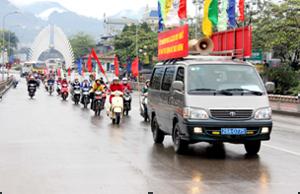 Diễu hành hưởng ứng ngày phòng chống ĐTĐ năm 2014.
