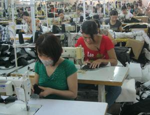 Học viên đạt yêu cầu của khóa học được tuyển dụng vào làm việc tại doanh nghiệp may mặc của tỉnh.