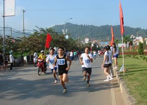 Đường Trần Hưng Đạo (thành phố Hoà Bình) là điểm diễn ra hầu hết các cuộc thi đấu của Giải việt dã truyền thống Cúp Báo Hoà Bình trong hơn 20 năm qua.