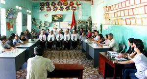 Sở Y tế, Dự án UNPA giao lưu lồng ghép với CLB Cùng chia sẻ tại xã Liên Sơn (Lương Sơn).