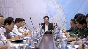 Họp Ban Chỉ đạo Phòng chống lụt bão T.Ư để bàn các biện pháp ứng phó với bão số 4 trên biển Đông.