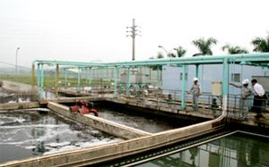 Khu xử lý KCN Lương Sơn đảm bảo xử lý 100% nước thải độc hại  của các doanh nghiệp trong KCN, đạt tiêu chuẩn quốc tế WHO.