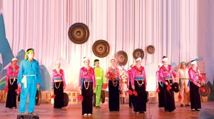 Xã Tự Do (Lạc Sơn) phát triển các CLB cồng chiêng, dân ca góp phần giữ gìn bản sắc văn hóa dân tộc.
