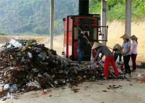 Sau khi lắp đặt, lò đốt rác thải sinh hoạt Kim Bình đảm bảo vận hành đúng công xuất thiết kế, xử lý 7-10 tấn rác/ngày.
