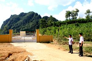 Bãi xử lý rác thải khu vực trung tâm huyện Kim Bôi thuộc xã  Kim Bình và thị trấn Bo công suất 15 tấn/ngày  chuẩn bị lắp đặt lò đốt đi vào hoạt động.