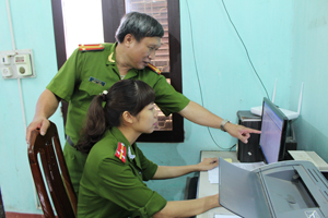 Huyện Lương Sơn: Nỗ lực đảm bảo ANTT góp phần xây dựng NTM