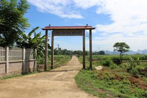 Xóm Hổ 1, xã Ngọc Lương (Yên Thủy) 10 năm liền đạt danh hiệu làng văn hóa, đang nỗ lực xây dựng khu dân cư kiểu mẫu.