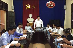 Lãnh đạo Ban Nội chính Tỉnh uỷ chủ trì kiểm tra tại TAND Lương Sơn.