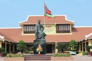 Khu di tích quốc gia đặc biệt Nguyễn Du, thuộc xã Tiên Điền,  huyện Nghi Xuân, Hà Tĩnh.