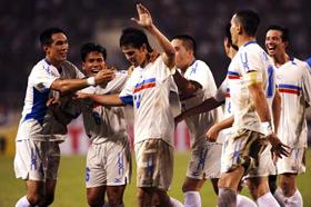 James Younghusband ghi bàn ấn định tỷ số 2-0 của trận đấu. Tuyển Philippines đã gây bất ngờ lớn nhất giải