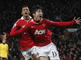 Park Ji-sung tỏa sáng đúng lúc mang chiến thắng về cho Manchester United