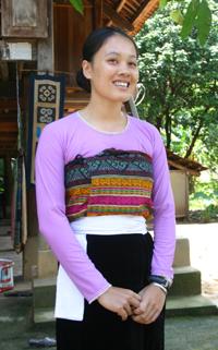 Trang phục của dân tộc Thái ở Mai Châu (Hòa Bình)