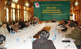 Báo chí Hòa Bình đẩy mạnh tuyên truyền về bảo tồn bản sắc văn hóa dân tộc