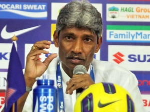 Huấn luyện viên Krishnasamy Rajagopal.