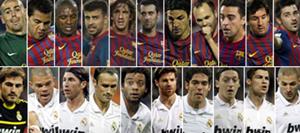 Real Madrid và Barcelona chứng tỏ sự vượt trội hoàn toàn so với các đội bóng khác.