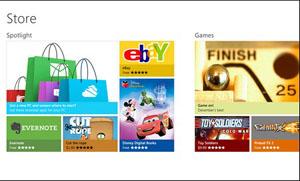 Windows Store được thiết kế để tìm kiếm và cài đặt ứng dụng cho Windows 8 được đơn giản