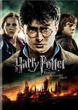 Poster phim Harry Potter and the Deathly Hallows phần 2.