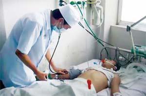 Một trường hợp ngộ độc được cấp cứu ở BV Chợ Rẫy TP.HCM.