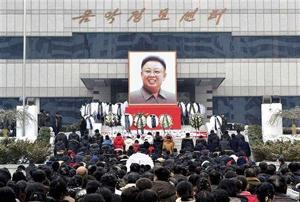 Người dân Triều Tiên tưởng nhớ Chủ tịch Kim Jong-il.