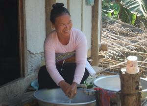 Đến nay, tỷ lệ dân số khu vực nông thôn trên địa bàn tỉnh được sử dụng nước sạch đạt 73,42%.