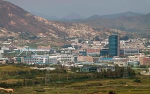 Khu công nghiệp liên Triều Kaesong.