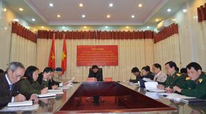 Tham gia hội nghị trực tuyến tại điểm cầu Hòa Bình có đồng chí Nguyễn Văn Dũng, Phó Chủ tịch UBND tỉnh và lãnh đạo các sở, ngành.