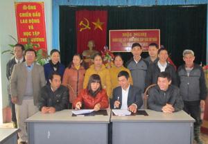 Mô hình đồng thuận thúc đẩy xây dựng nông thôn mới ở Lạc Thủy