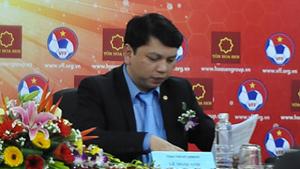 Tổng Thư ký VFF, ông Lê Hoài Anh.