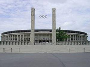 Sân vận động Olympiastadion, Berlin, nơi diễn ra trận chung kết Champions League mùa bóng 2014 -2015.