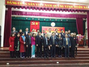 BCH Hội Bảo trợ NTT & TMC khóa mới ra mắt Đại hội.