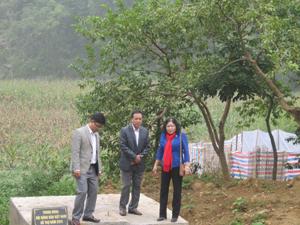 Công trình xử lý chất thải, bảo vệ môi trường làng nghề thôn Đệt, xã Thanh Nông (Lạc Thủy).