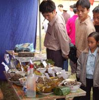 Ảm thực độc đáo của người Mường Bi tại lễ hội khai hạ