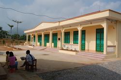 Chi trường tiểu học xóm Dài (Bắc Phong) trị giá trên 860 triệu đồng do Chidfund) tài trợ vừa hoàn thành đưa vào đáp ứng nhu cầu học tập cho học sinh trên địa bàn.