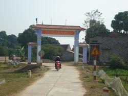 Năm 2008, toàn tỉnh có 47 km đường GTNT được hỗ trợ cứng hoá