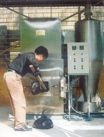 Lò đốt chất thải rắn y tế độc hại VHI - 18 B dùng cho bệnh viện đa khoa tuyến huyện.