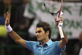Federer tiến gần hơn mục tiêu vô địch tại Doha.