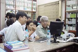 Thanh tra Bộ Y tế kiểm tra nhà thuốc Mỹ Châu 1 ngày 12-8-2009.
