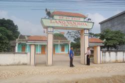Nhà văn hóa thôn Yên Tiến (Yên Trị - Yên Thuỷ) tổng trị giá gần 112 triệu đồng, trong đó nhân dân đóng oops 94 triệu đồng